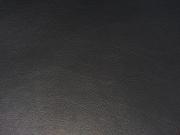 RESTSTÜCK 28 cm Leder Imitat Meterware -  Dunkelgrau