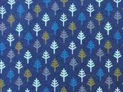 Jersey kleine Bäume, dunkelblau