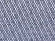 Jacquard Stoff Mini Waben, jeansblau melange