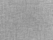 RESTSTÜCK 48 cm Leinenstoff fein uni, anthrazit melange