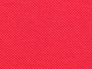 Piqué T-Shirt Stoff Baumwolle uni, rot