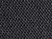 Piqué  T-Shirt Stoff Baumwolle uni, schwarz