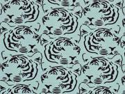 Jersey Tigerkopf, schwarz mint