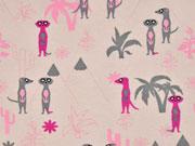 Jersey Erdmännchen Palmen, rosa