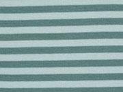 Bündchen Streifen 7 mm garngefärbt, mint