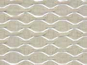 RESTSTÜCK 32 cm Strukturjersey Wellen, beige