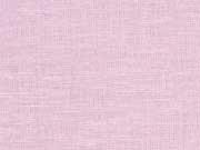 RESTSTÜCK 80 cm Leinen uni (Kombi zu Streifen), rosa