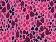 Jersey bunte Blätter, rosa