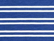 Jersey Doppel-Streifen, dunkelblau