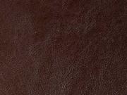 RESTSTÜCK 26 cm kräftiges Lederimitat, dunkelbraun