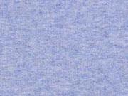 French Terry (Kombi zu Kronen), hellblau melange