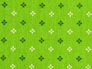 Baumwolle Mini Kreuzblume, hellgrün