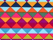 Baumwolle bunte Dreiecke