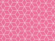 Jersey Gitternetz Muster, Himbeer Sorbet