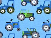 Jersey Traktor, hellblau
