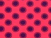Jersey Kreise Punkte, lila fuchsia