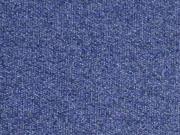 RESTSTÜCK 24 cm French Terry Melange, dunkelblau melange