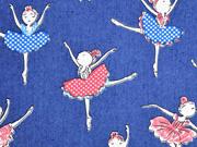 Stretch Jeans Ballerina, jeansblau