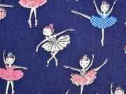 Stretch Jeans Ballerina, dunkelblau