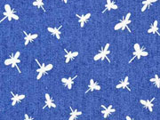 weicher Stretchjeans Libellen, jeansblau