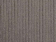 Breitcord Stoff uni, dunkles Taupe