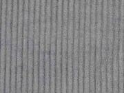 RESTSTÜCK 29 cm Breitcord uni, mausgrau