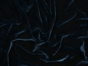 elastischer Samt, tiefes indigoblau