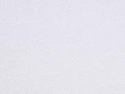 RESTSTÜCK 43 cm kräftiges Lederimitat, cremeweiß