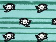 Jersey Streifen & Piratenflagge, mint