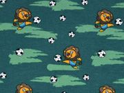 Jersey Fußball Löwen, dunkelgrün