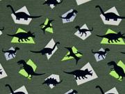 Jersey Dinos khaki grün