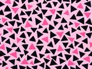Jersey Dreicke rosa