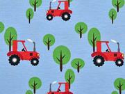 Jersey Traktoren, hellblau