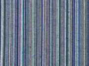 Mexiko Stoff schmale Streifen, blau beige grün