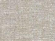 RESTSTÜCK 102 cm Leinen Viskose, beige meliert