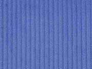 RESTSTÜCK 34 cm Breitcord uni, jeansblau