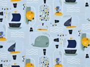 Jersey Flaschenpost, hellblau