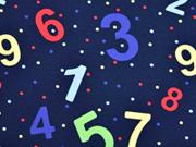 Jersey Zahlen Punkte, dunkelblau