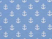 Jersey Anker, hellblau