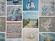 Half Panama maritime Impressionen Digitaldruck