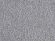 Jeansstoff mit Stretch, grau