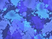 Jersey Camouflage, blau
