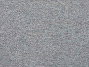 Lambskin Fleece Stoff, mittelgrau meliert