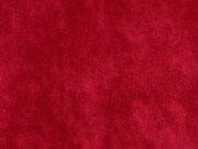 Elastischer Samt Jersey, rot