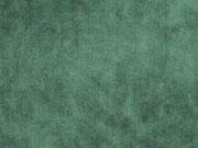 Elastischer Samt Jersey, flaschengrün