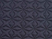 Steppjersey Sterne, dunkelblau
