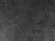 Lederjersey Imitat Camouflage, dunkelblau