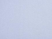 Baumwollfleece uni, Baby Hellblau