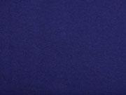 Baumwollfleece uni, Marineblau