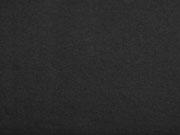 RESTSTÜCK 29 cm Baumwollfleece uni, schwarz
